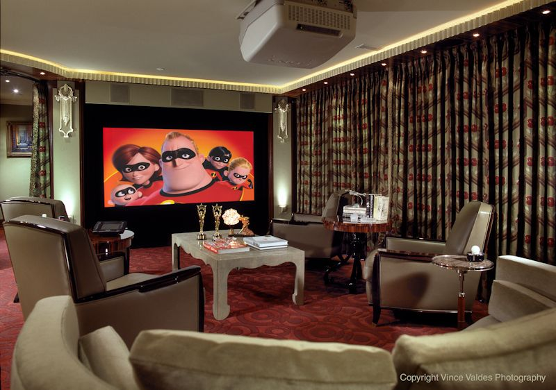 Tiburon Finished Home Theater A