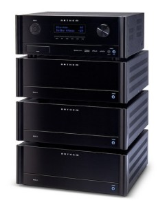 Anthem AVM 60 with amp stack